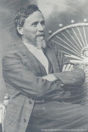 オステオパシー創始者 A.T.スティル, M.D.