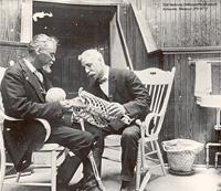 1913年 Dr.スティルと同僚